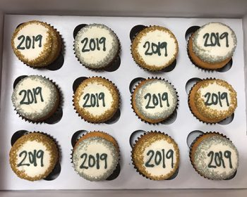 New Years Cupcakes - 2019