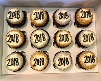New Years Cupcakes - 2018