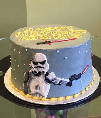 Star Wars Layer Cake