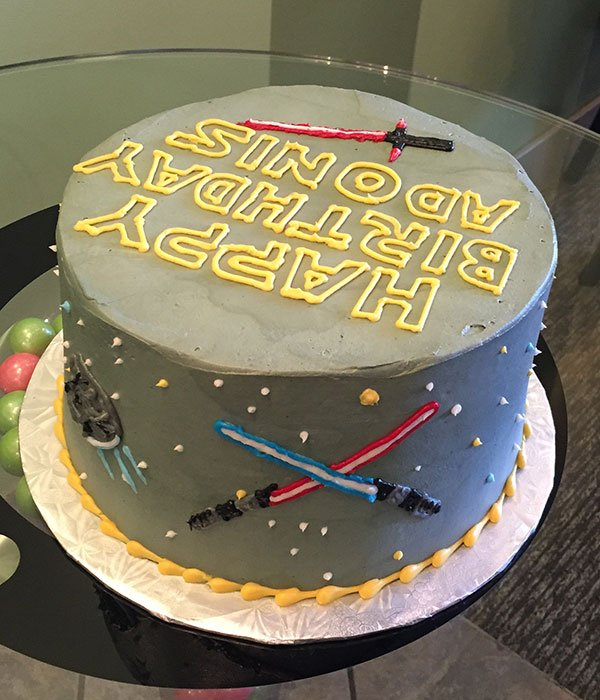 Star Wars Layer Cake - Back