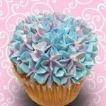 Assorted Flower Jumbo Filled Cupcake