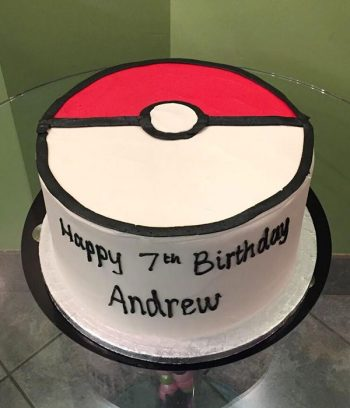 Pokémon Ball Layer Cake