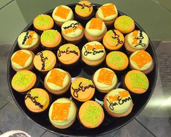 Decorated Cupcake Party Tray - Bon Iver