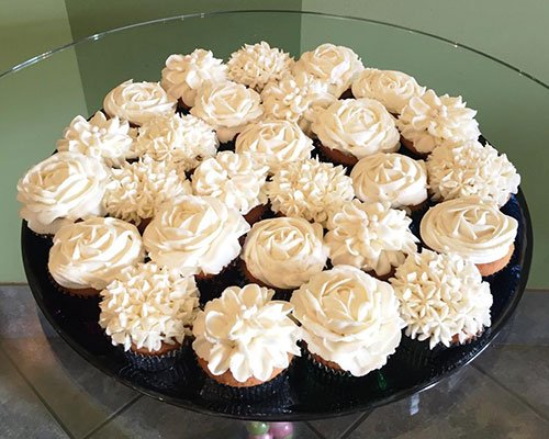 Decorated Cupcake Party Tray Classy Girl Cupcakes