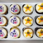Dora the Explorer Cupcakes - Backpack & Star
