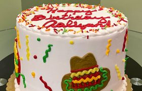 Fiesta Layer Cake - Side