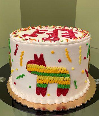 Fiesta Layer Cake - Side