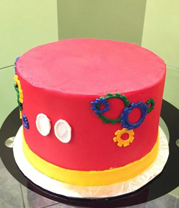 Mickey Mouse Clubhouse Layer Cake - Right Side