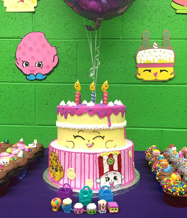 Shopkins Tiered Cake