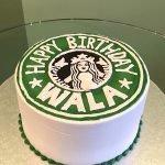 Starbucks Layer Cake