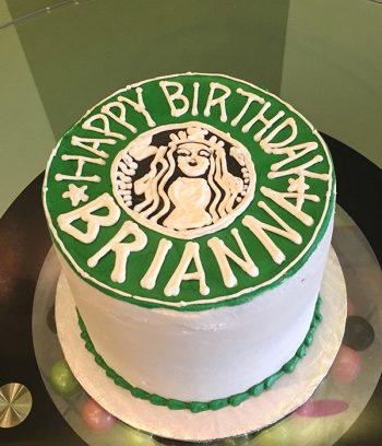 Starbucks Layer Cake - Top