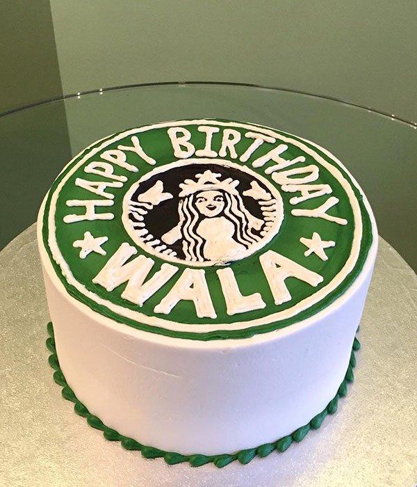 Starbucks Layer Cake Classy Girl Cupcakes