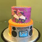 Totally 80's Tiered Cake