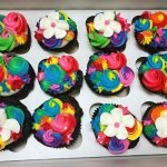 Unicorn Mane Cupcakes - Bright Colors