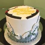 Skiing Layer Cake