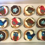 Birds of a Feather Cupcakes