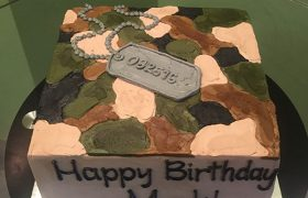 Camouflage Layer Cake