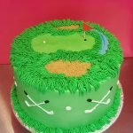 Golf Course Layer Cake