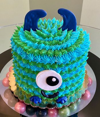 Little Monster Layer Cake - Green and Blue
