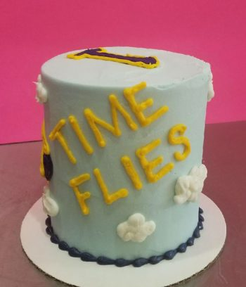 Airplane Layer Cake - Back