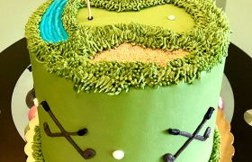 Golf Course Layer Cake