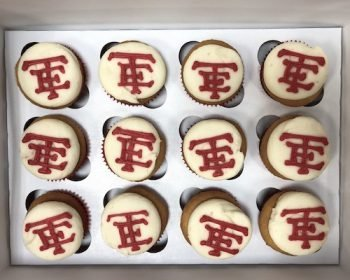 School Logo Cupcakes - Wauwatosa East High School
