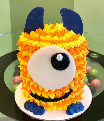 Little Monster Layer Cake - Orange & Yellow