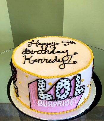 "L.O.L. Surprise Layer Cake 8"" - Top"