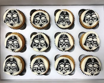 Star Wars Cupcakes - Darth Vader