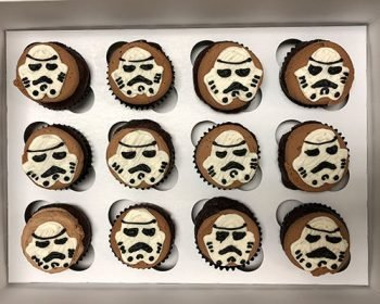 Star Wars Cupcakes - Storm Trooper