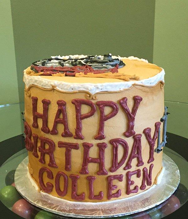 Vintage Train Layer Cake