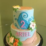 Moana Tiered Cake