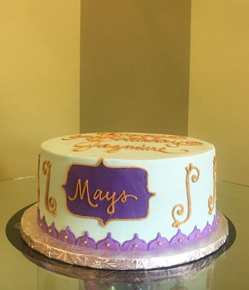 Princess Jasmine Layer Cake