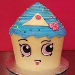 Shopkins Cupcake Queen Giant Cupcake Cake