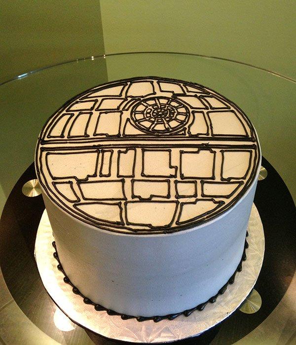 Star Wars Death Star Layer Cake