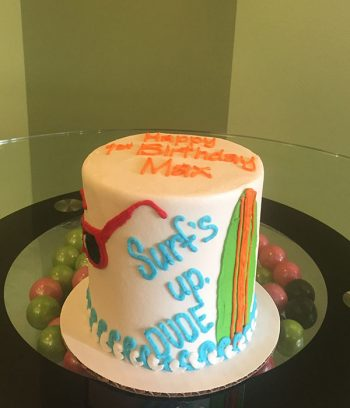Surf's Up Layer Cake