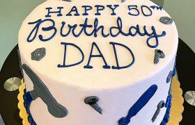 Tools Layer Cake - Top