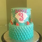 Under The Sea Tiered Cake