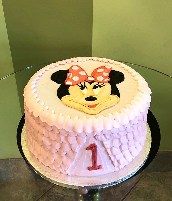 Minnie Mouse Ruffle Layer Cake
