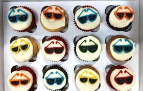Sunglasses Cupcakes