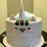 Pusheenicorn Layer Cake