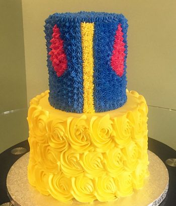 Snow White Tiered Cake