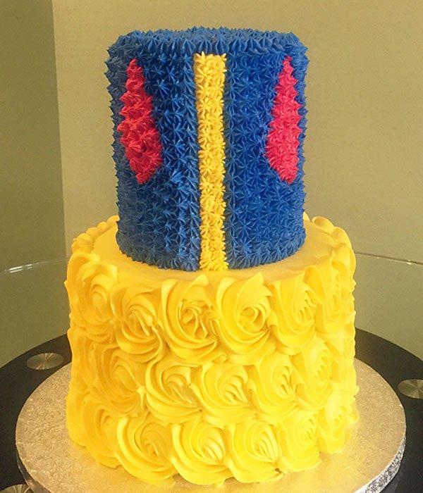 Snow White Tiered Cake