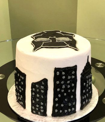 Black Panther Layer Cake - Back