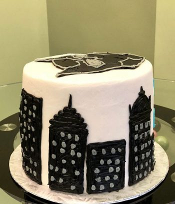 Black Panther Layer Cake - Side