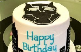 Black Panther Layer Cake