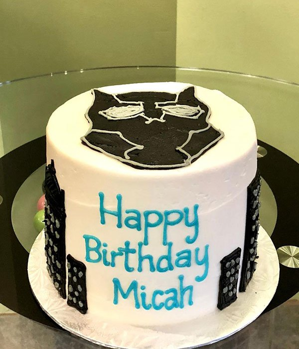 Black Panther Layer Cake Classy Girl Cupcakes