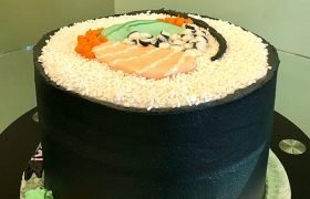 Sushi Roll Layer Cake