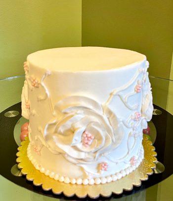 Florissa Layer Cake - Blush Pink Pearls