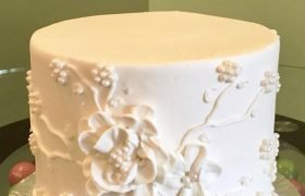 Florissa Layer Cake - White